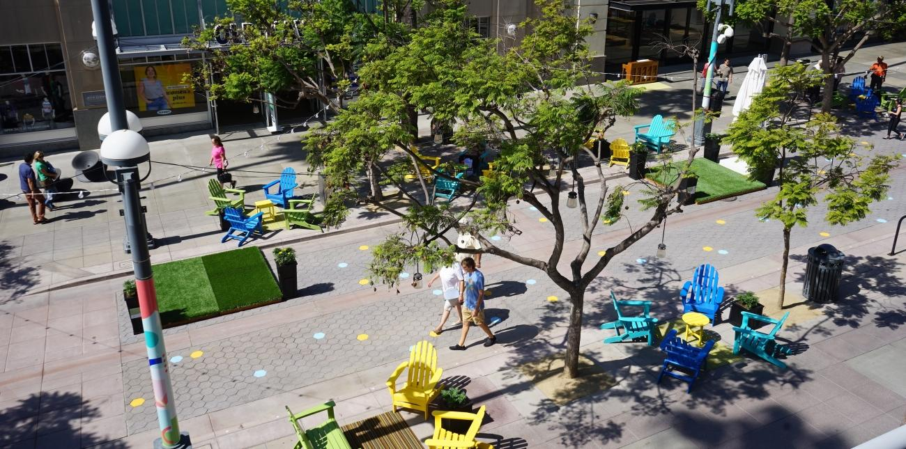 Promenade 3.0: Downtown Santa Monica experiments with the world-class outdoor space, asks for public feedback